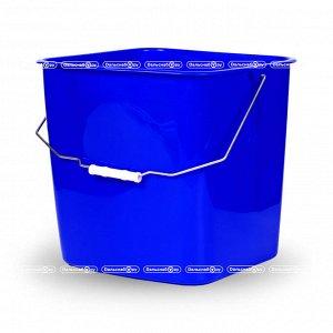 Ведро сменное для тележки пластиковое с рукояткой