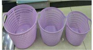 Корзина для хранения 20*14см пластик Арт.16593-8 /367014 /DVL