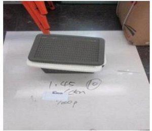 Короб для хранения 28х19,5х36см пластик Арт. BL8539 /348518 /YW