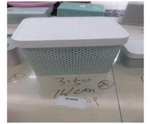 Короб для хранения 37х27,5х27см пластик Арт. BL8546,36637-3 /348549 /YW