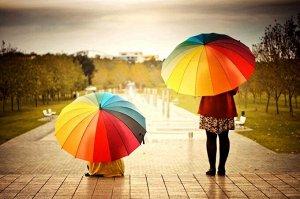Зонт полуавтоматический / 96 см