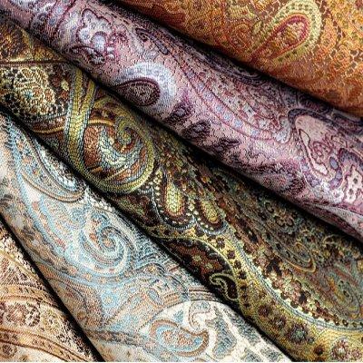Обивка 41💎Мебельные ткани; Кожзам / Интерьер / Наполнитель — Мебельная ткань SANSARA (Жаккард) — Шторы