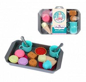"""Mary Poppins. Набор посуды с продуктами """"Кухни мира. Французская кондитерская""""  арт.453137"""