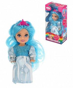 """Карапуз. Кукла """"Машенька"""" 12см. в нарядном платье арт.MARY37484-BB"""