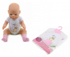 Муси-Пуси. Одежда для кукол на вешалке 42 см. (пупс в комплект не входит) арт.IT103465