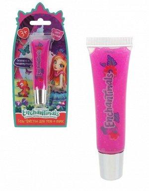 """Милая леди. Косметика для девочек """"Enchantimals"""" гель-блестки д/тела и волос,розовый. арт.51633-ENS"""