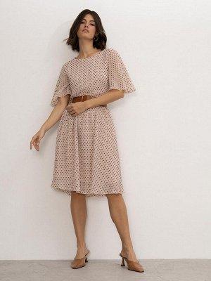 Платье в горох PL1163/drop
