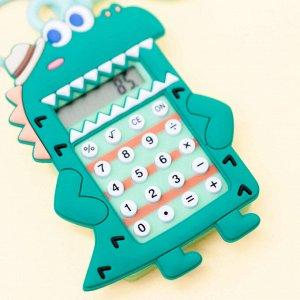 "Брелок-калькулятор ""Сrocodile"", dark green"