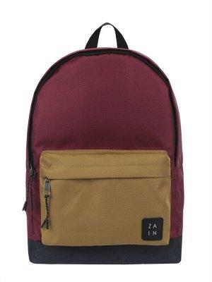 Рюкзак ZAIN 433 (бордо-горчичный)