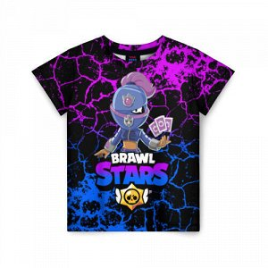 Детская футболка 3D «Brawl Stars TARA.