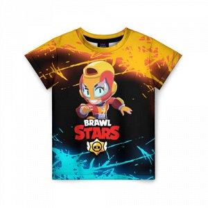 Детская футболка 3D «BRAWL STARS MAX.»