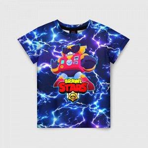 Детская футболка 3D «BRAWL STARS SURGE.»
