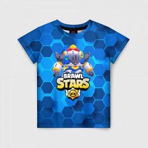 Детская футболка 3D «BRAWL STARS paladin»