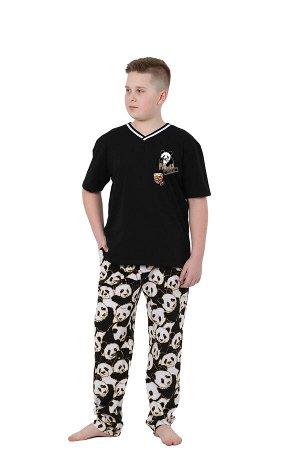 """Пижама детская """"Панда"""" для мальчиков"""