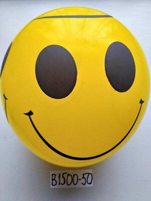 В1500-50 шары смайлик желтый 50шт В1500-50 шары смайлик желтый 50шт