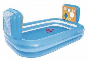 Бассейн детский надувной 54170 (237смх152смх94см)
