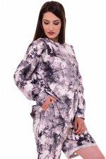 *Толстовка женская Ф-3-035 (серый), Тай-дай