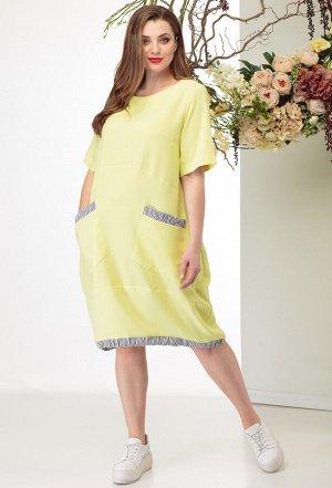 Платье Michel Chic 2003 желтый