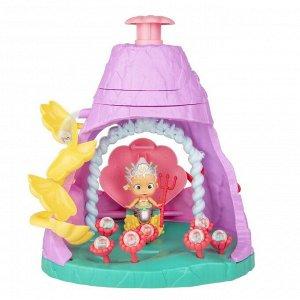 Игровой набор IMC Toys Bloopies Shellies с вулканом + эксклюзивная русалочка636