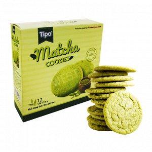 Печенье сладкое , сухое со вкусом Матча 90 гр Т.М. «TIPO»