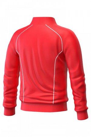 Красный Состав: Полиэстер - 100% Ветровка Track jacket для юниоров – функциональная и практичная спортивная куртка унисекс, незаменима для занятий спортом на открытом воздухе. Выполнена из 100% полиэс