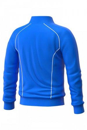 Синий Состав: Полиэстер - 100% Ветровка Track jacket для юниоров – функциональная и практичная спортивная куртка унисекс, незаменима для занятий спортом на открытом воздухе. Выполнена из 100% полиэсте
