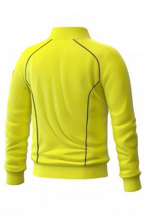 Желтый Состав: Полиэстер - 100% Ветровка Track jacket для юниоров – функциональная и практичная спортивная куртка унисекс, незаменима для занятий спортом на открытом воздухе. Выполнена из 100% полиэст