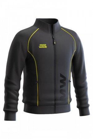 Черный Состав: Полиэстер - 100% Ветровка Track jacket для юниоров – функциональная и практичная спортивная куртка унисекс, незаменима для занятий спортом на открытом воздухе. Выполнена из 100% полиэст