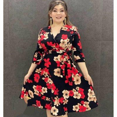 STильная одежда на каждый день! Дарим подарки! — Платья и сарафаны Plus-size — Платья