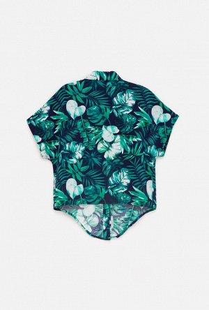 Блузка детская для девочек Linoza набивка