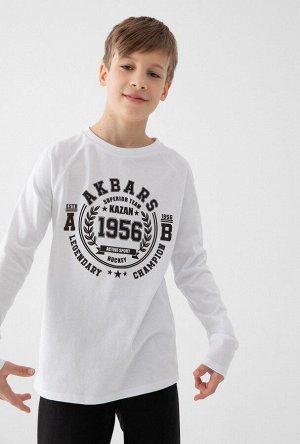 Джемпер детский для мальчиков Dinyak белый