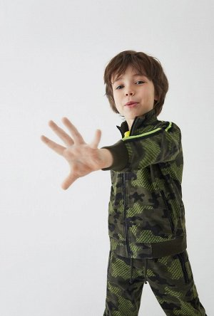 Жакет детский для мальчиков Vans набивка