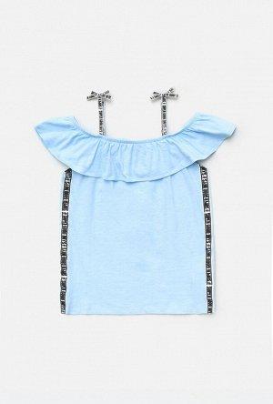 Майка детская для девочек Bonaire голубой