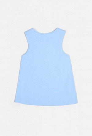 Майка детская для девочек Silba голубой