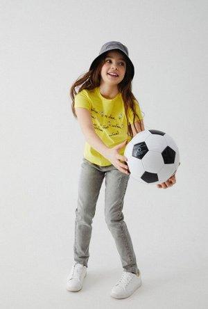 Футболка детская для девочек Berles песочный
