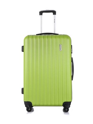 LCASE чемодан Krabi-26-BCP-12-02-Light green ABS-пластик