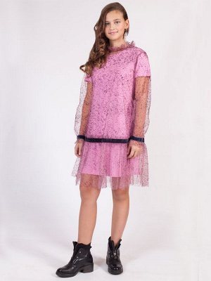 Платье прямого силуэта для девочки
