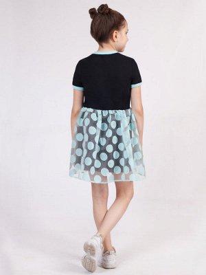 Платье приталенного силуэта для девочки