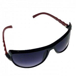 Классические женские очки Alur_Fem в чёрно-красной оправе.