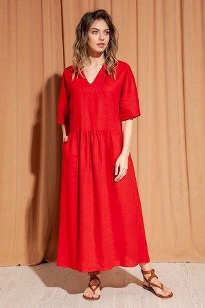 Платье женское Красный