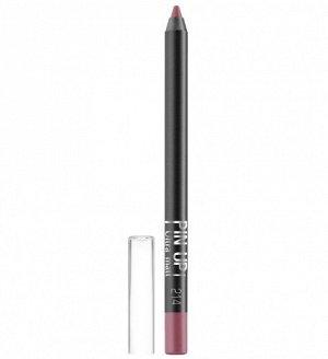 .Lux  карандаш  для губ PIN UP  matt   NEW!! 214 chic