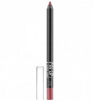 .Lux  карандаш  для губ PIN UP  matt   NEW!! 216 code