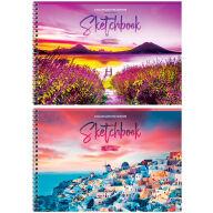 """Альбом для рисования 32л., А4, на гребне ArtSpace """"Путешествия. Bright sunset"""""""