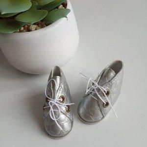 Ботинки со шнурками на Паола Рейна или ступню 5 см