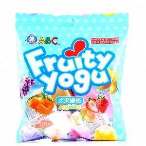 """Желе """"Ассорти фруктовый йогурт"""" 228 гр.  Тайвань"""