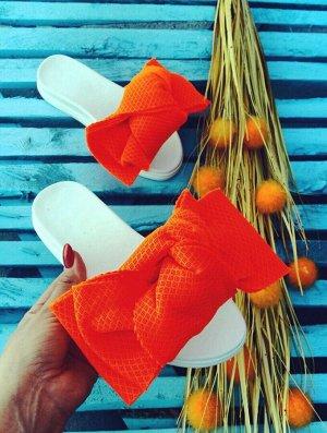 Шлепанцы Orange Mesh