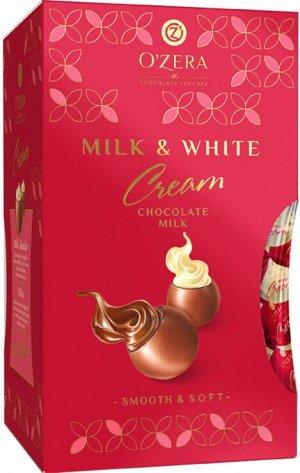 «OZera», шоколадные конфеты O'Zera Milk & White Cream, 200г