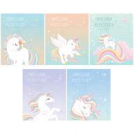 """Тетрадь 12л., клетка ArtSpace """"Рисунки. Unicorn mystery"""""""