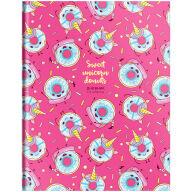 """Дневник 1-4 кл. 48л. (твердый) """"""""Pattern. Donuts"""", матовая ламинация, выборочный лак"""
