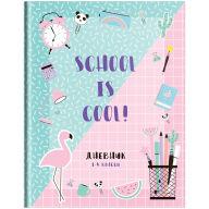 "Дневник 1-4 кл. 48л. (твердый) ""Stickers. School is cool"", глянцевая ламинация"